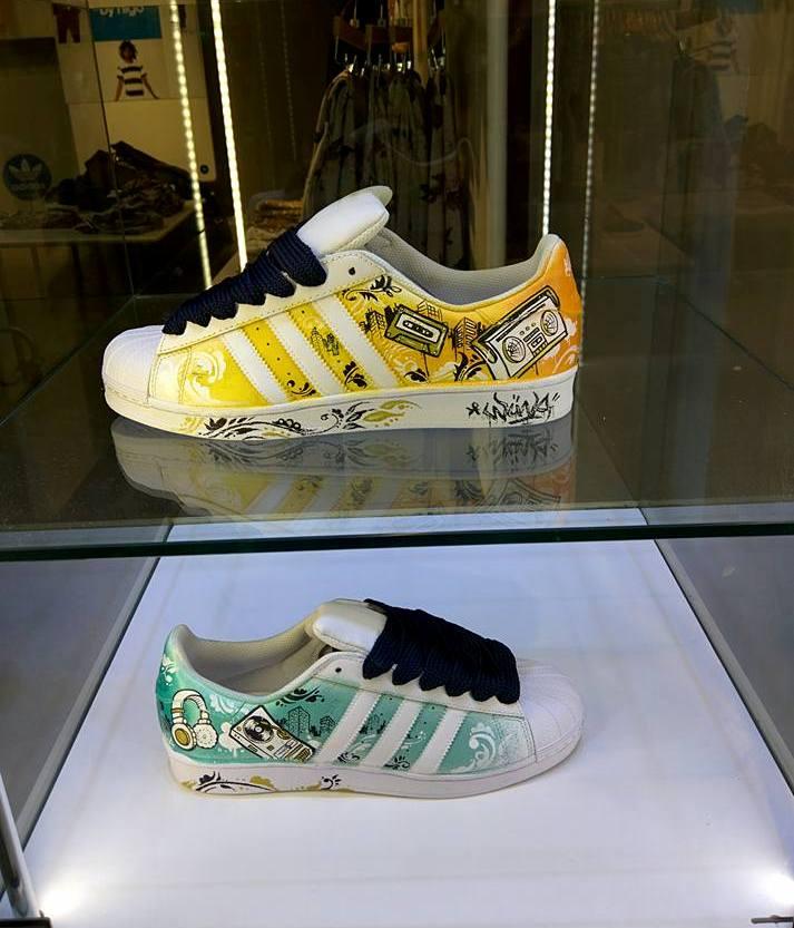 the latest 7bb4d df1bf Adidas superstar custom - Wuna