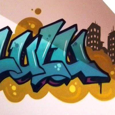 Décoration chambre d'enfant graffiti