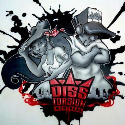 Ecole de danse Hip Hop Disstorsion. Montréal, 2013
