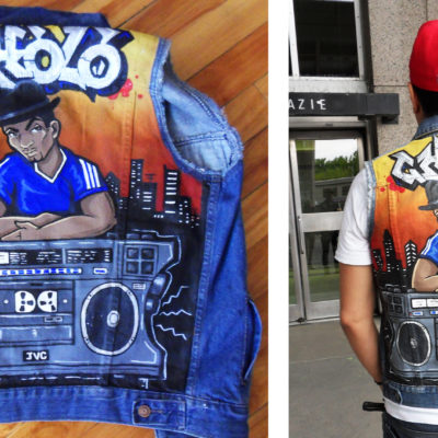 "Customisation de Jacket ""Boombox"""