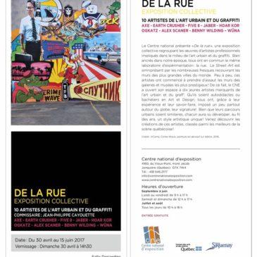 Exposition «De la rue»