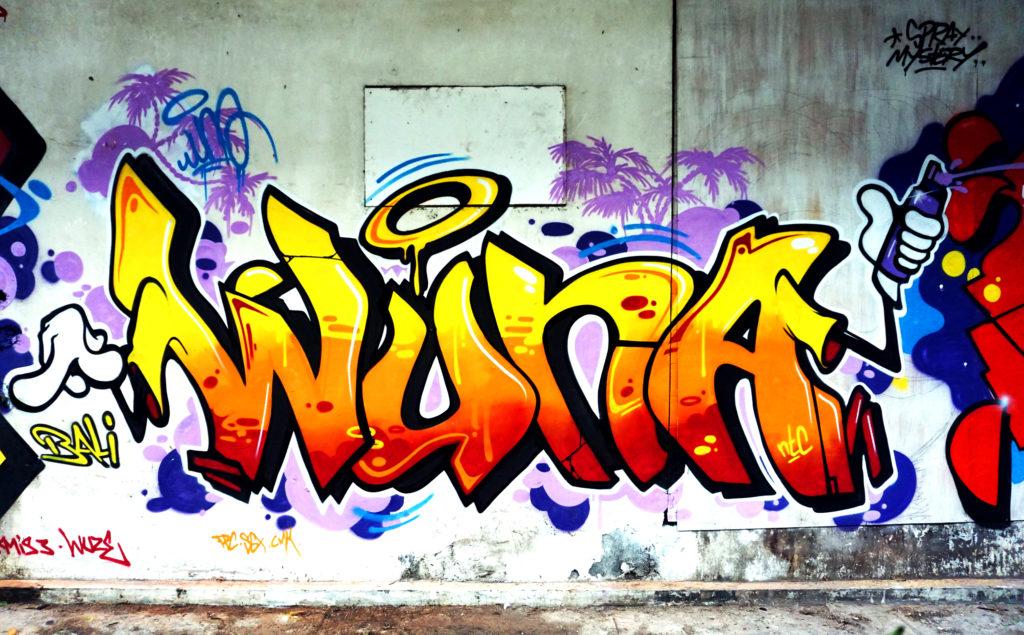 Bali graffiti, wuna, hest1, pino, Indonesia, Bali, 2018, 2018, graff, graffiti, decor, decoration, graffiti decor, letters, indonesia graffiti, street art, street art, wuna, wüna, misswuna, graffeuse, graffitiwoman, baliisland, baligraffiti, canggu, canggugraffiti, bali streetart, canggustreetart, hip hop, bali hip hop, graffeuse, decor, cartoon, graffiti custom